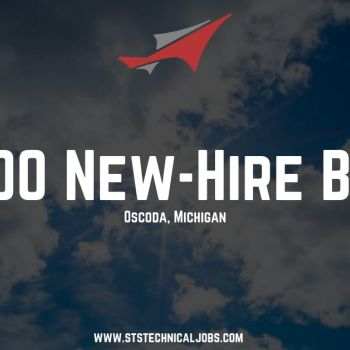 STS Technical Services is Offering a $4,000 Bonus for Aircraft Maintenance Jobs in Michigan