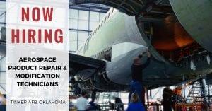 Aerospace Product Repair Modification Technicians Tinker AFB OK