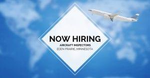 Aircraft Inspectors Eden Prairie MN