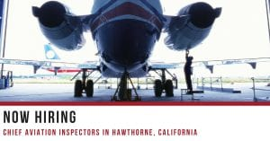 Chief Aviation Inspectors Hawthorne CA
