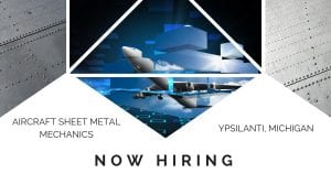 Aircraft Sheet Metal Mechanics Ypsilanti MI