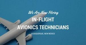 In Flight Avionics Technicians Albuquerque NM