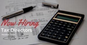Tax Directors Houston TX