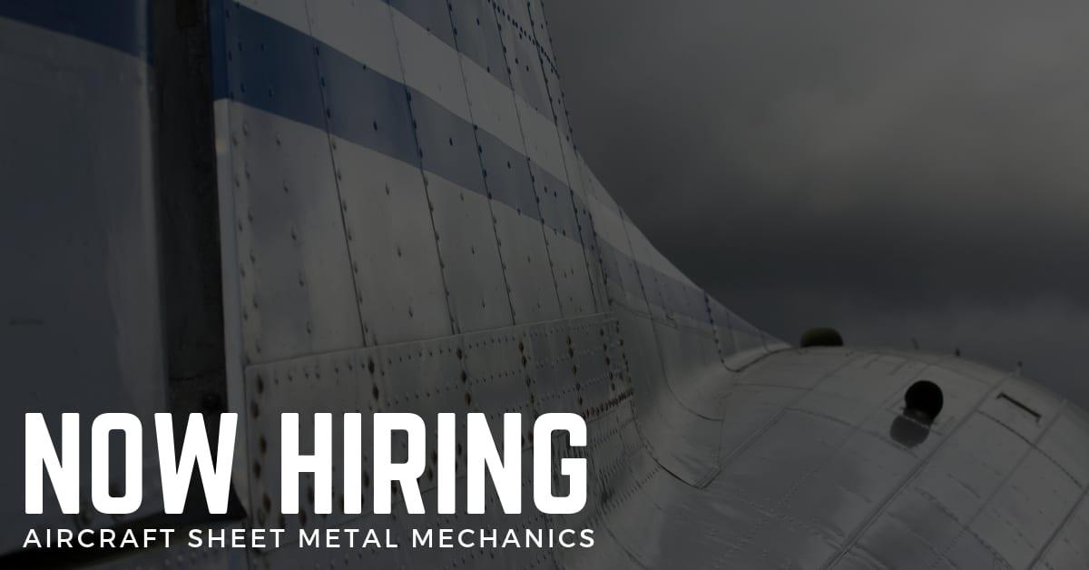 Aircraft Sheet Metal Mechanic Jobs Sts Technical Services