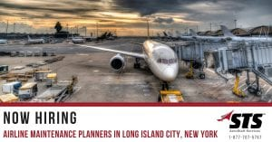 Airline Maintenance Planners Long Island City New York STSES