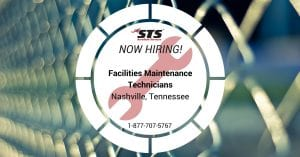 Facilities Maintenance Technicians Nashville Tennessee STSES
