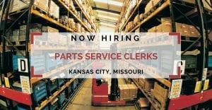 Parts Service Clerks Kansas City MO