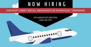Aircraft Sheet Metal Mechanics Nashville Tennessee STSAS 1