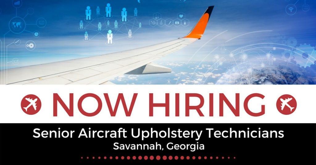 Senior Aircraft Upholstery Technicians 1
