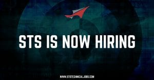 STS Technical Services is Now Hiring