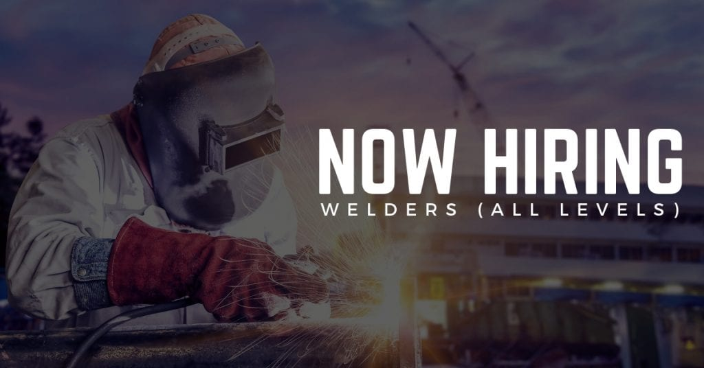 STS Technical Services is Now Hiring Welders in Virginia