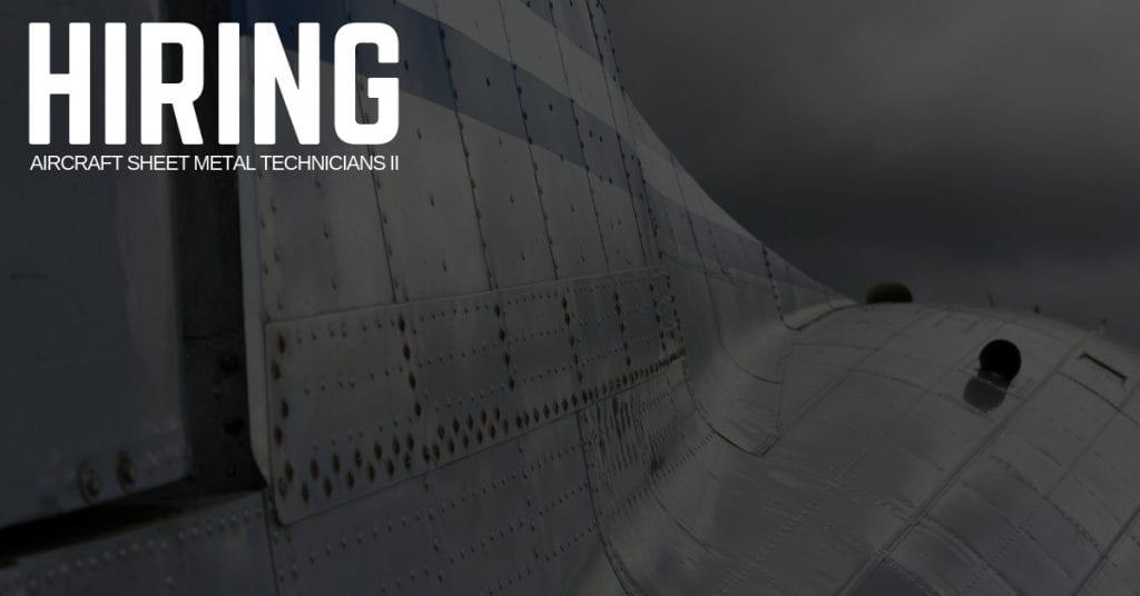 Aircraft Sheet Metal Technician Jobs