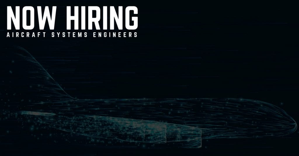 Aircraft Systems Engineer Jobs