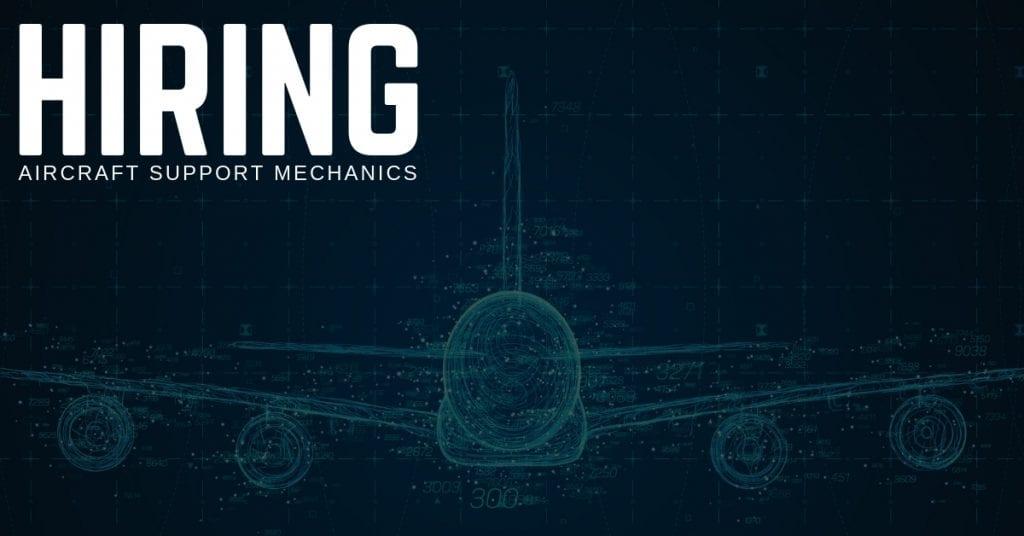 Aircraft Support Mechanic Jobs