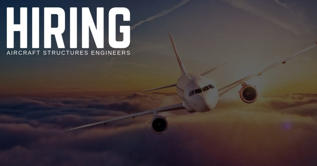 Aircraft Structures Engineer Jobs