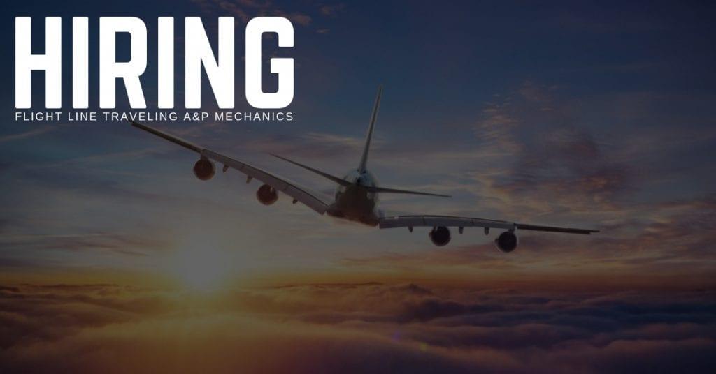 Flight Line Traveling AP Mechanic Jobs