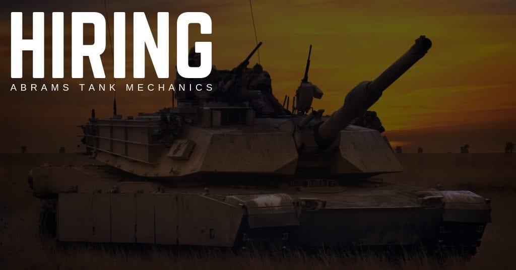 Abrams Tank Mechanic Jobs