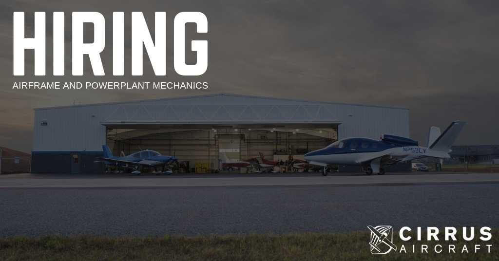 Hiring Airframe and Powerplant Mechanics in McKinney, Texas