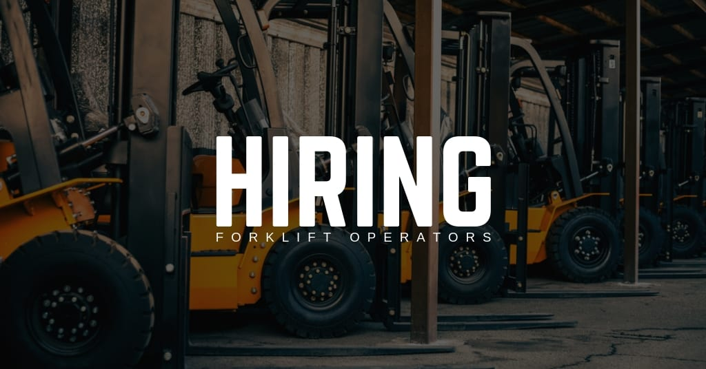 Forklift Operator Jobs