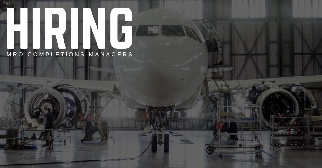 Hiring MRO Completions Managers in Georgetown, Delaware