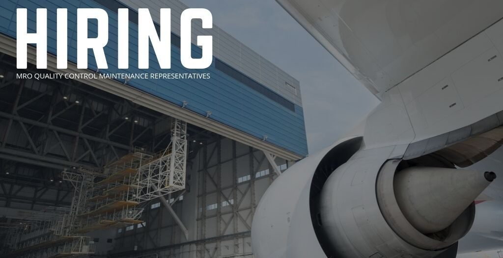 MRO Quality Control Maintenance Representative Jobs