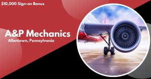 STS Line Maintenance is now hiring A&P Mechanics at PHL Airport in Philadelphia, Pennsylvania