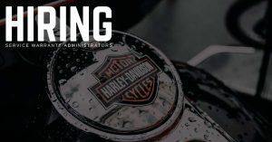 Service Warranty Administrator Jobs for Harley-Davidson