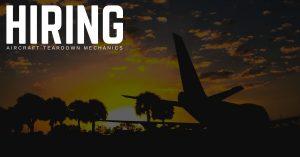 Aircraft Teardown Mechanic Jobs in Goodyear, Arizona
