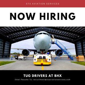 Tug Driver Jobs At BHX