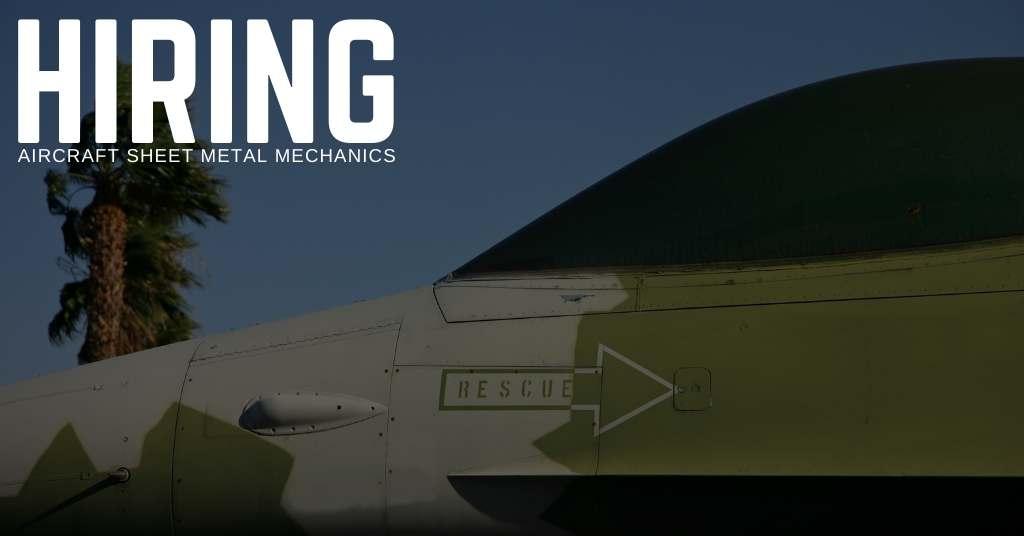 Aircraft Sheet Metal Mechanic Jobs in South Carolina