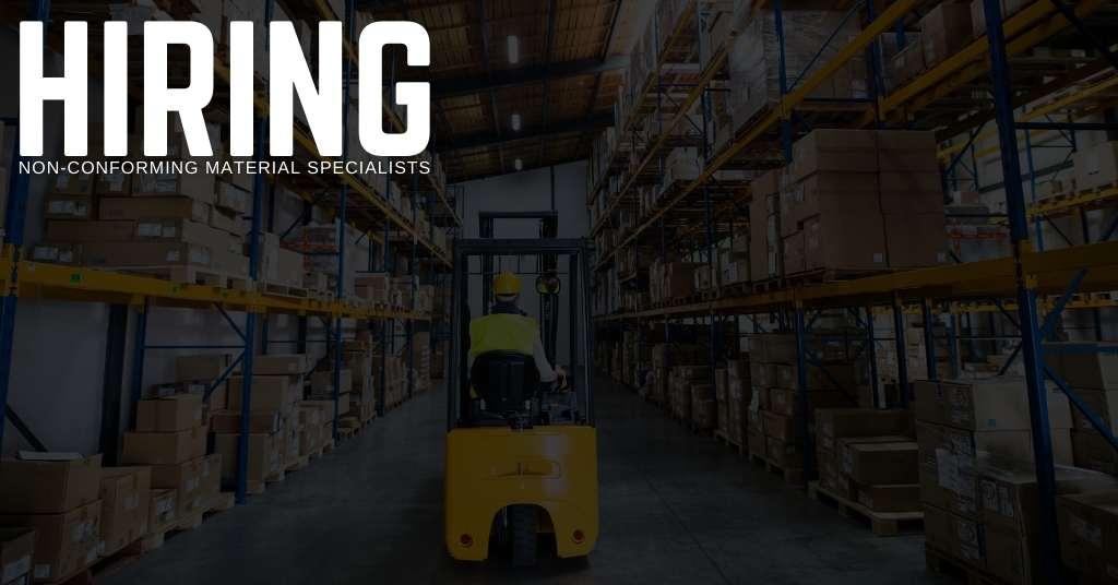 Non-Conforming Material Specialist Jobs in Pennsylvania