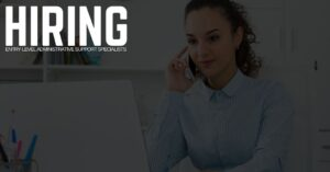 Entry-Level Administrative Support Specialist Jobs in Wisconsin