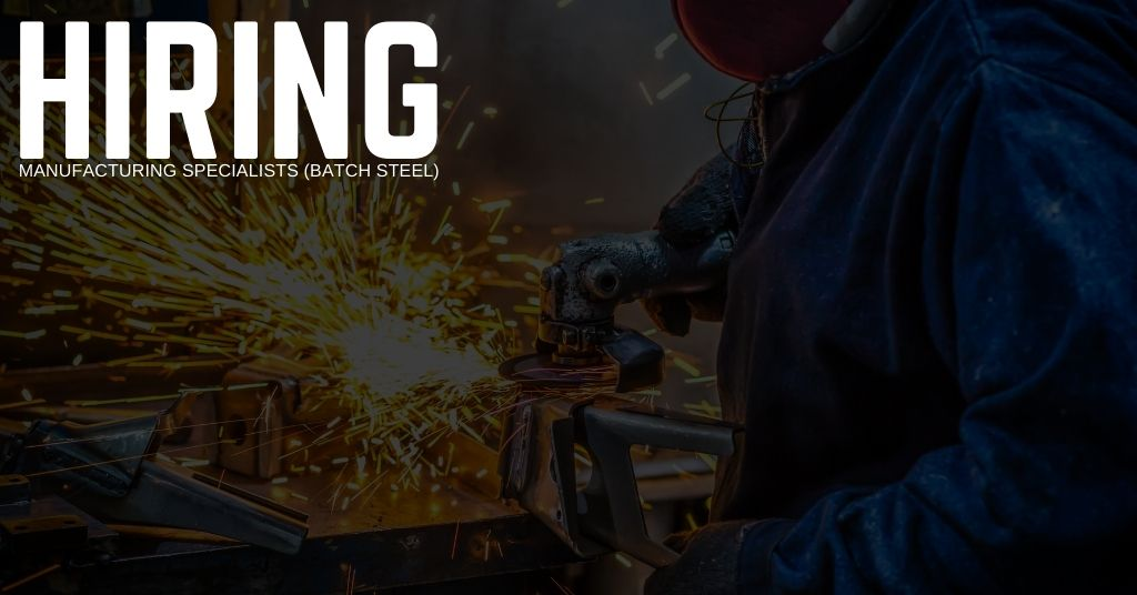 Manufacturing Specialists (Batch Steel) Jobs in Dallas, Texas