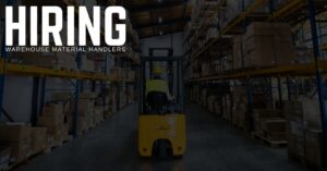 Warehouse Material Handler Jobs in Greenville, South Carolina