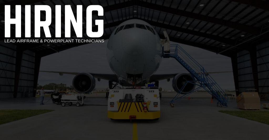 Lead Airframe & Powerplant Technician Jobs in Melbourne, Florida (1)