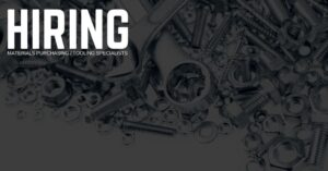 Materials Purchasing _ Tooling Specialist Jobs in Fort Lauderdale