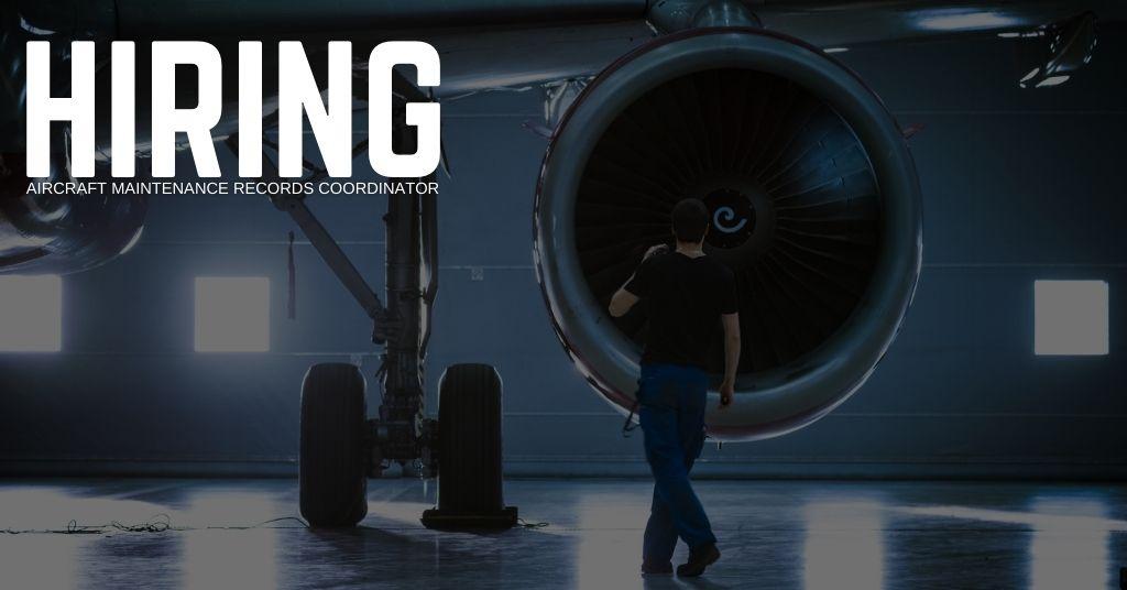 Aircraft Maintenance Records Coordinator Jobs (1)