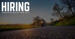 Associate Quality Analyst Jobs