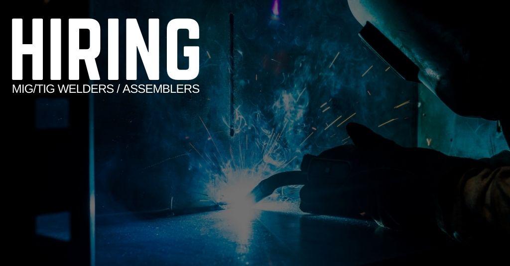 MIG_TIG Welders _ Assembler Jobs