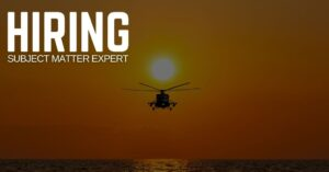 Subject Matter Expert Jobs (Helicopters)