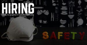 Health & Safety Coordinator Jobs