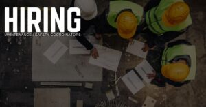 Maintenance _ Safety Coordinator Jobs