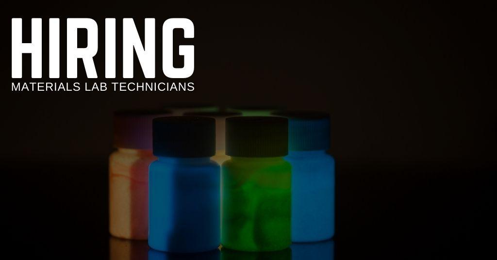 Materials Lab Technician Jobs