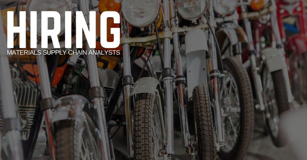 Materials Supply Chain Analyst Jobs