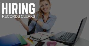 Records Clerk Jobs