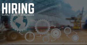 Supply Chain Supervisor Jobs