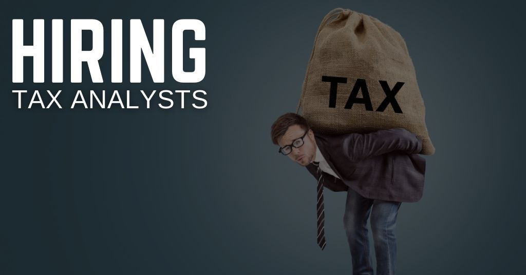 Tax Analyst Jobs