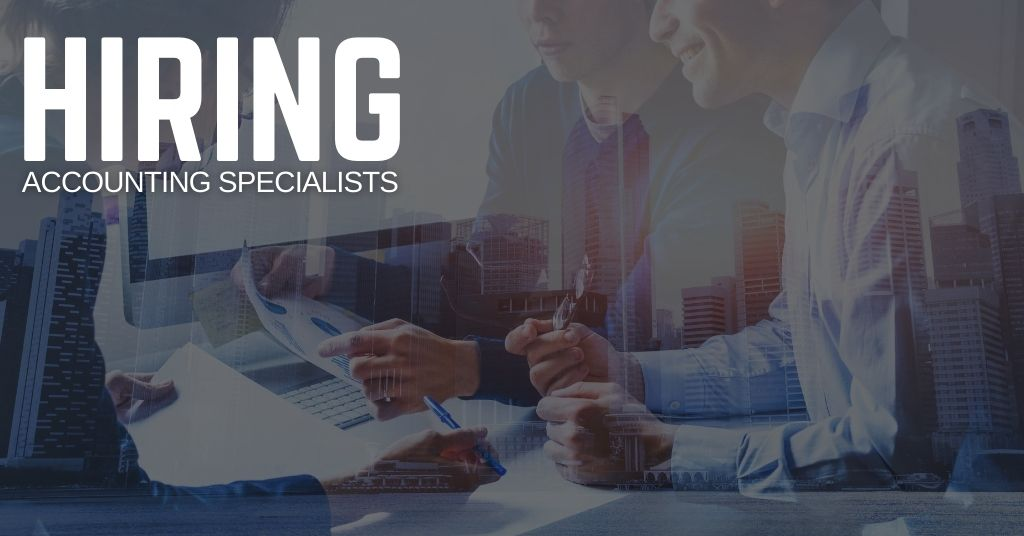 Accounting Specialist Jobs