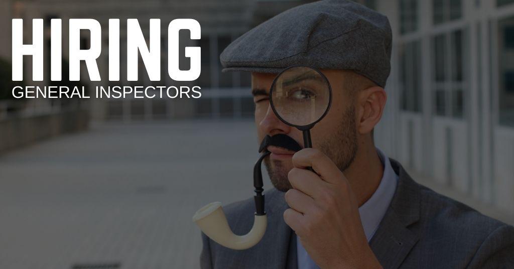 General Inspector Jobs