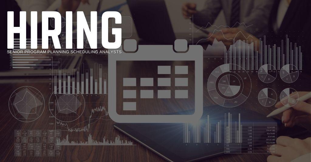Senior Program Planning Scheduling Analyst Jobs